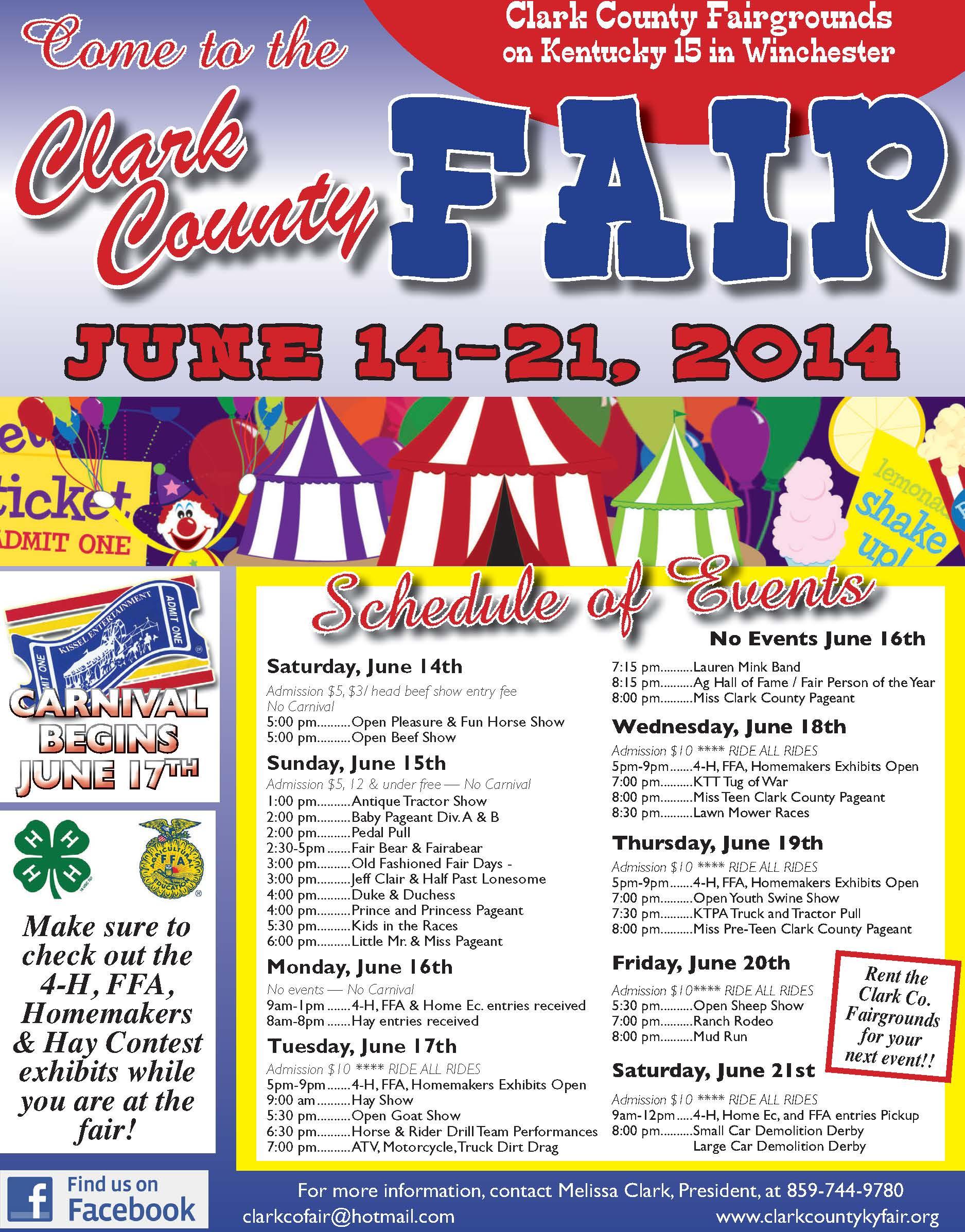 Clark County Fair 2014